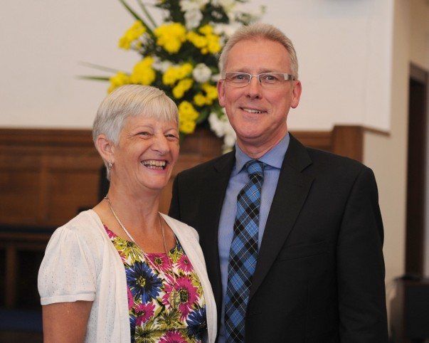Rev Mike & Mrs Marsden