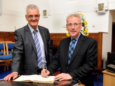 Rev Graham Brown & Rev Mike Marsden