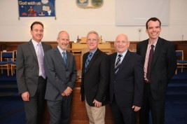 Rev Mike is appointed Minister at Wilson Memorial