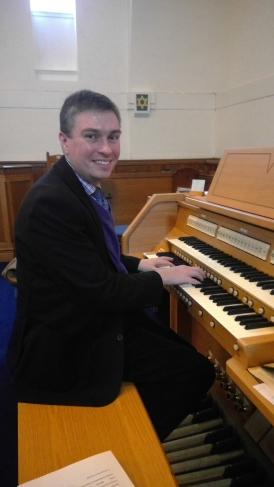 Guest organist impresses congregation
