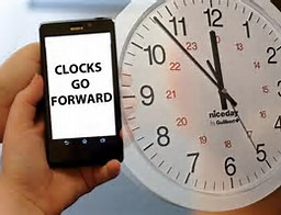clocks go forward